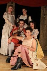 Malet, Molly, Lizzie, Jane & Rochester