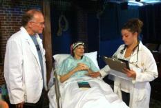 Dr. Kelekian, Vivian & Jason (Mike Pomp, Constance Witman & Danica Carlson)