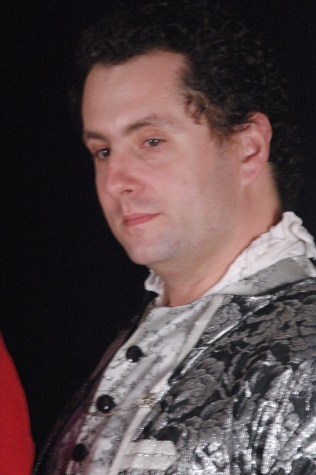 Chris walters as George Etherege