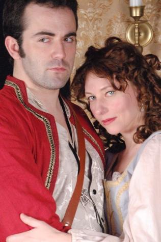 Rochester & Elizabeth Barry ( Dan Beaulieu & Constance Witman)