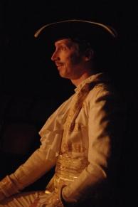 Andy Fling as King Charles II