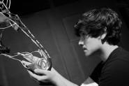 Dylan Shwartz-Wallach as Alan Strang Equus 2008 Players' Ring Theatre