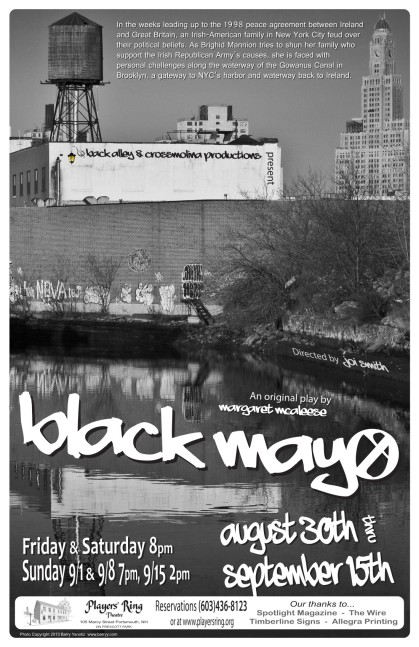 Black Mayo Poster BW C2 (Photo Copyright © 2013 Barry Yanowitz. barryy.com)