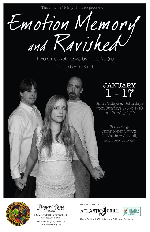 In collaboration with The Players' Ring Theatre Photo by Mat Kingsbury Poster Design Kaitlyn Huwe