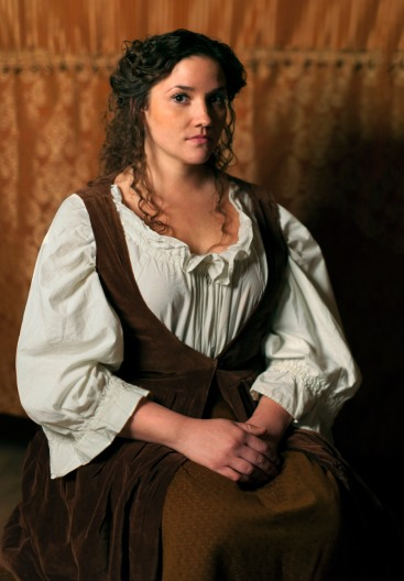 Danica Carlson as Maria. Photo by M. Lavigne Photography