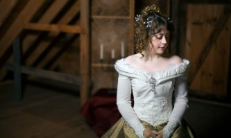 Olivia Tobin as Nell Gwyn. Photo by M. Lavigne Photography